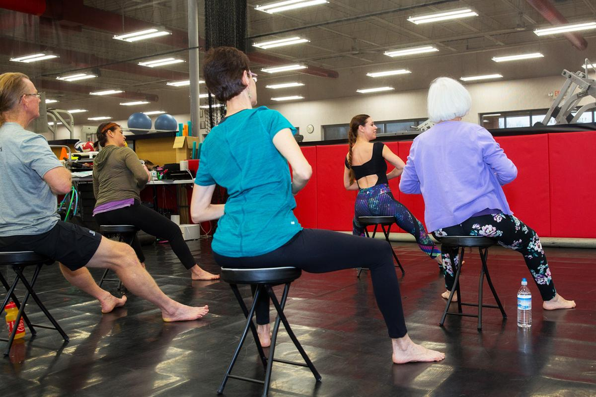gyrokinesis group exercise class st. louis