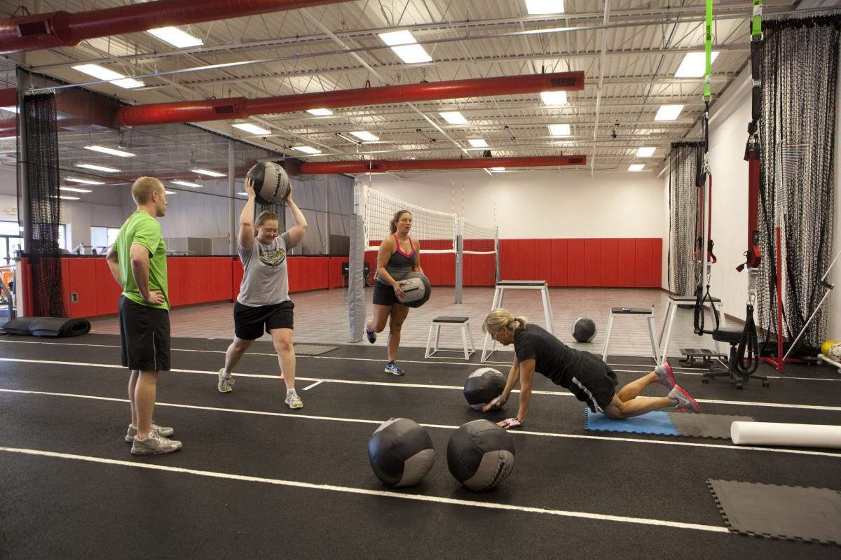 group exercise class - st. louis - gym
